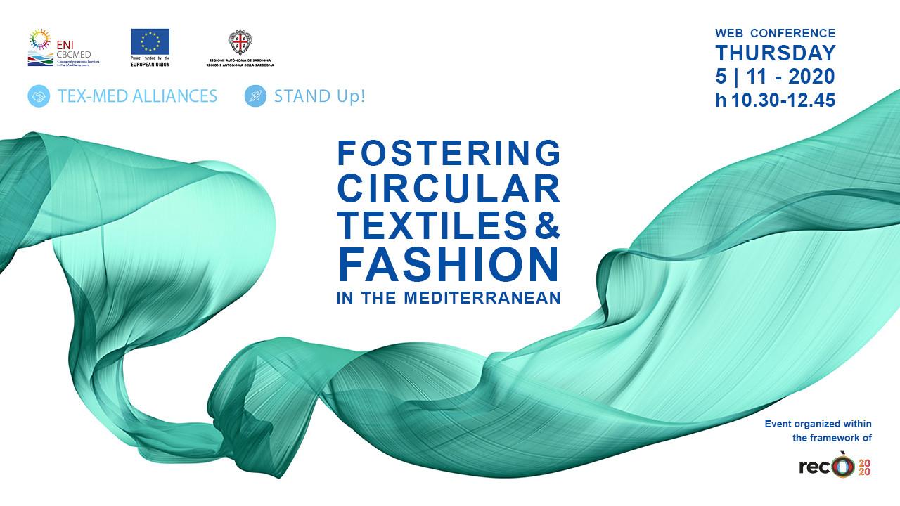 Conférence des projets de coopération STAND Up! et TEXMEDALLIANCES : Jeudi 5 novembre 2020