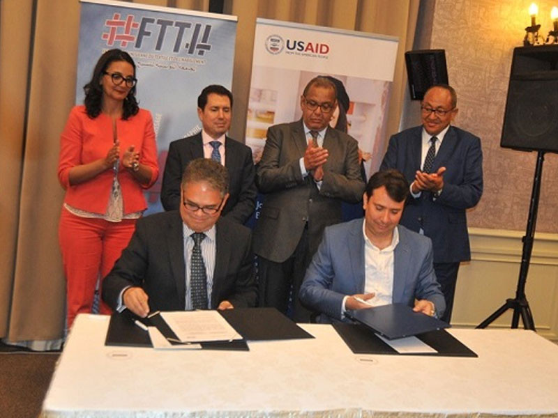 Textile et habillement : Accord de collaboration entre la FTTH et l'USAID